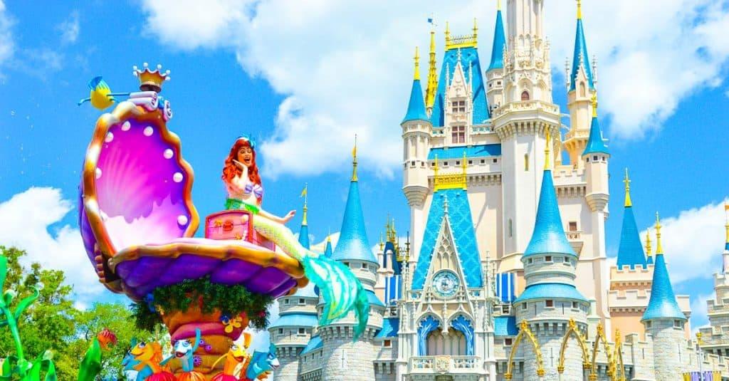 Ariel Castle Parade