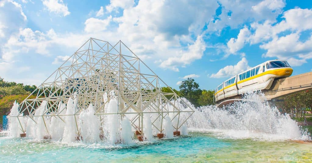 Epcot-Fountain
