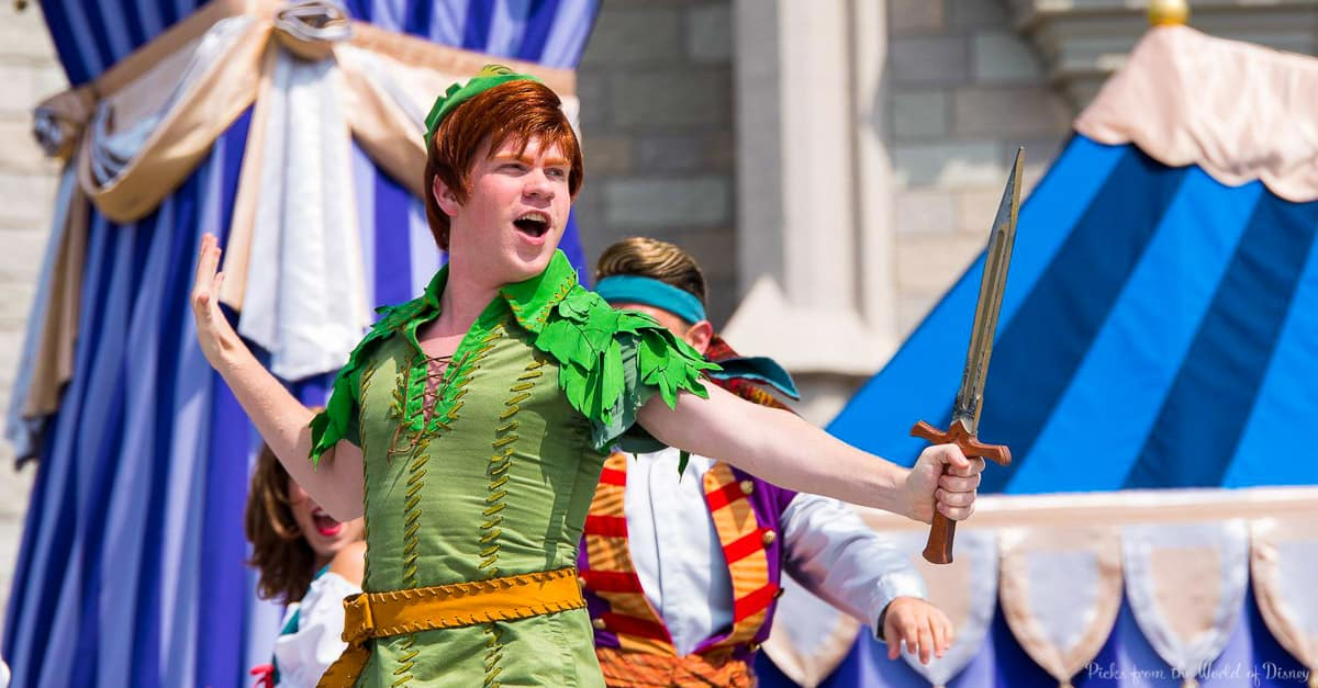 disney world character facts meet peter pan