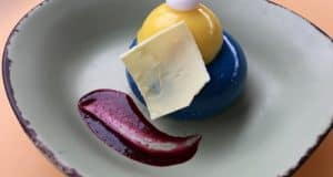 Blueberry Cream Cheese Mousse