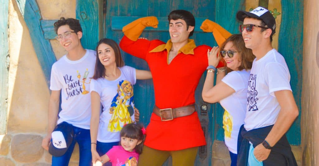 Family With Gaston