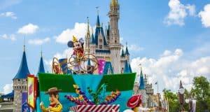 Castle Parade Mickey