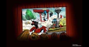 Mickey's Runaway Railway