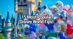 15 Most Popular WDW Tips Ever