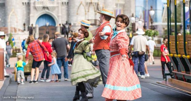Main St. USA Dancers _ DisneyFanatic