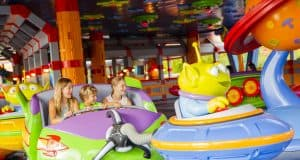Alien Swirling Saucers _ Toy Story Land