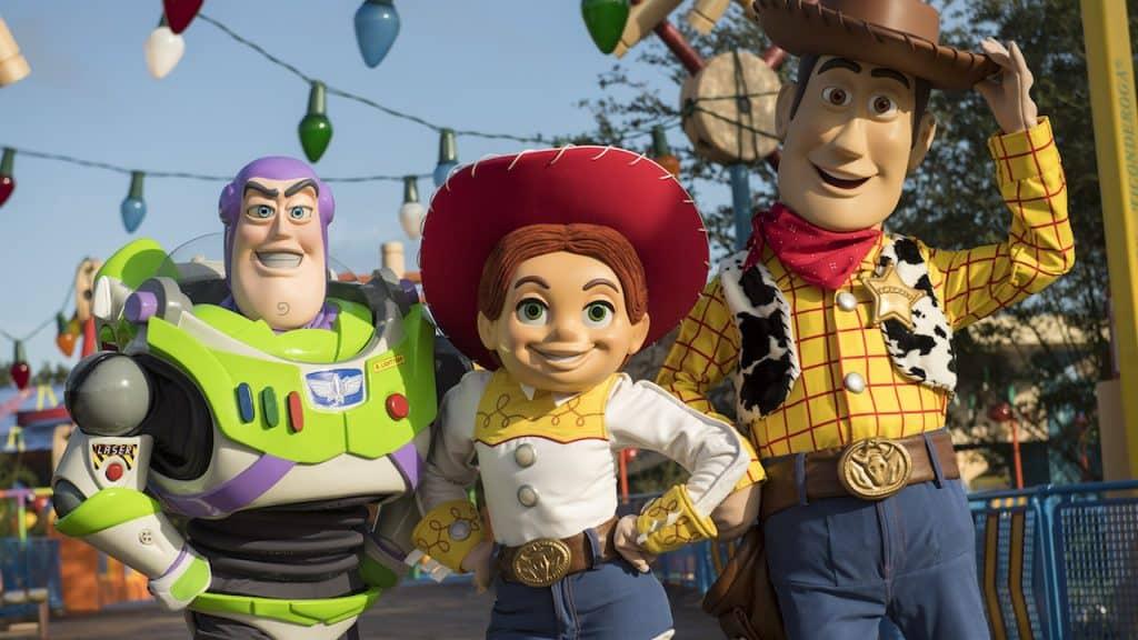 Woody_Buzz_Jessie_Toy Story Land _ Walt Disney World _ Disney Fanatics