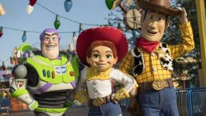 Woody_Buzz_Jessie_Toy Story Land _ Walt Disney World _ Disney Fanatics