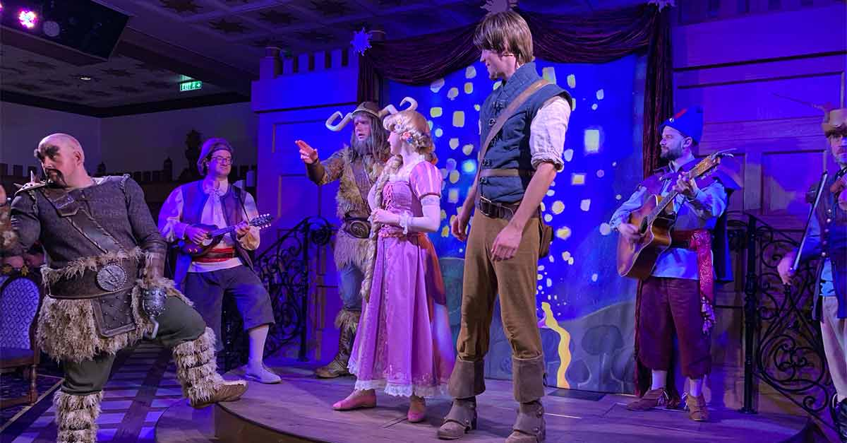 Rapunzel and the gang!