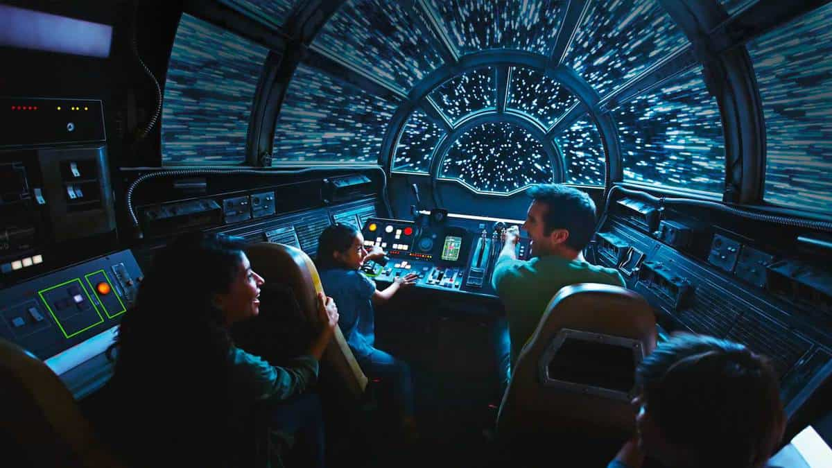 Millennium Falcon: Smugglers Run - Photo credit Disney