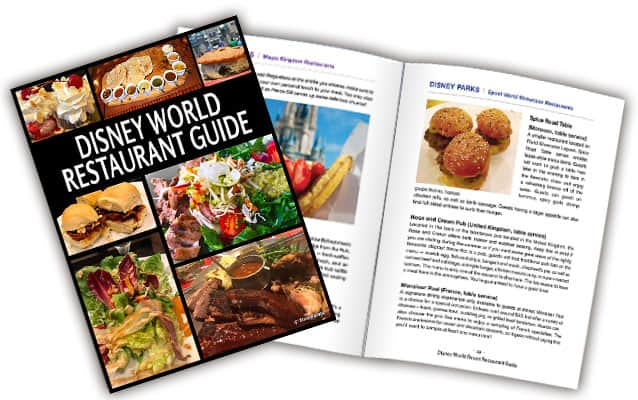Disney World Restaurant Guide