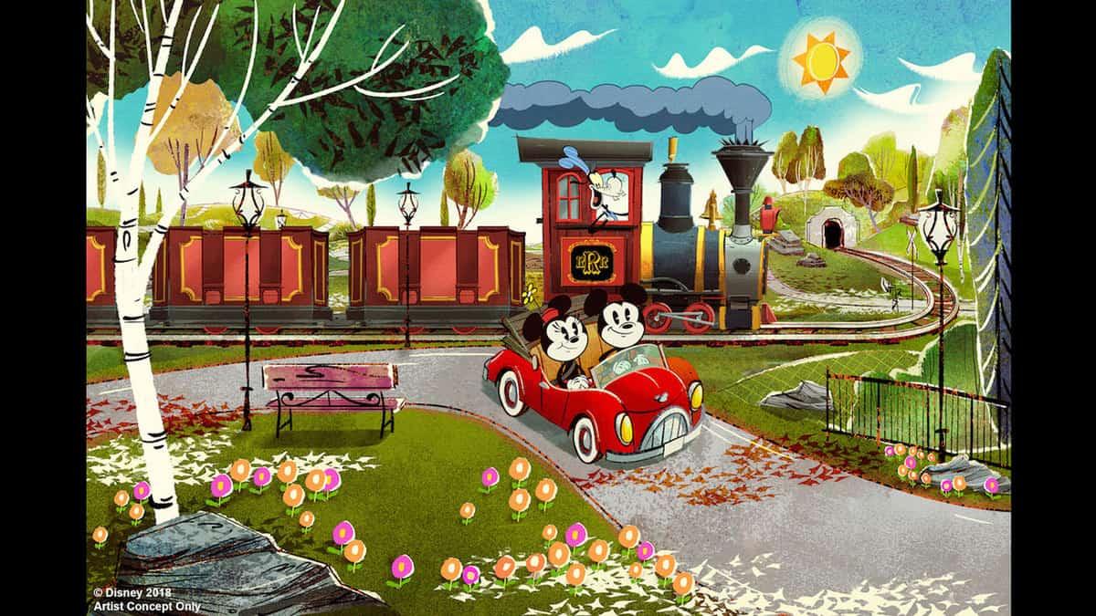 Mickey and Minnie's Runaway Railroad - Photo Credit Disney