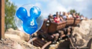 Balloons Seven Dwarfs Mine Train