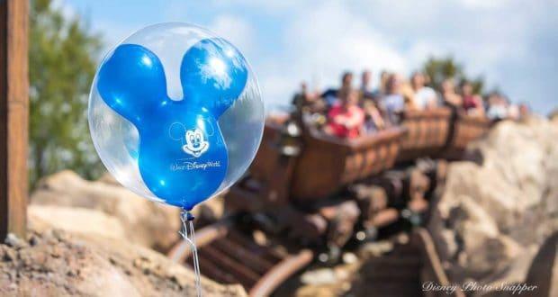 Balloons Seven Dwarfs Mine Train