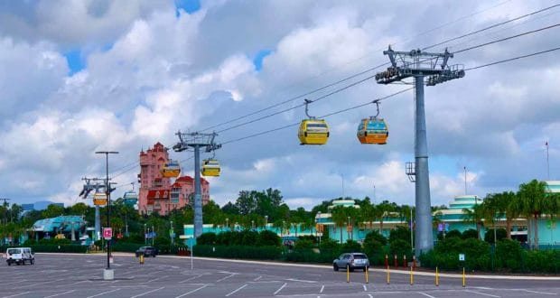 Skyliner at Hollywood Studios