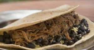 Barbacoa Beef Burrito