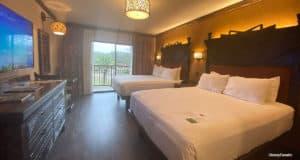 Animal Kingdom Lodge guestroom
