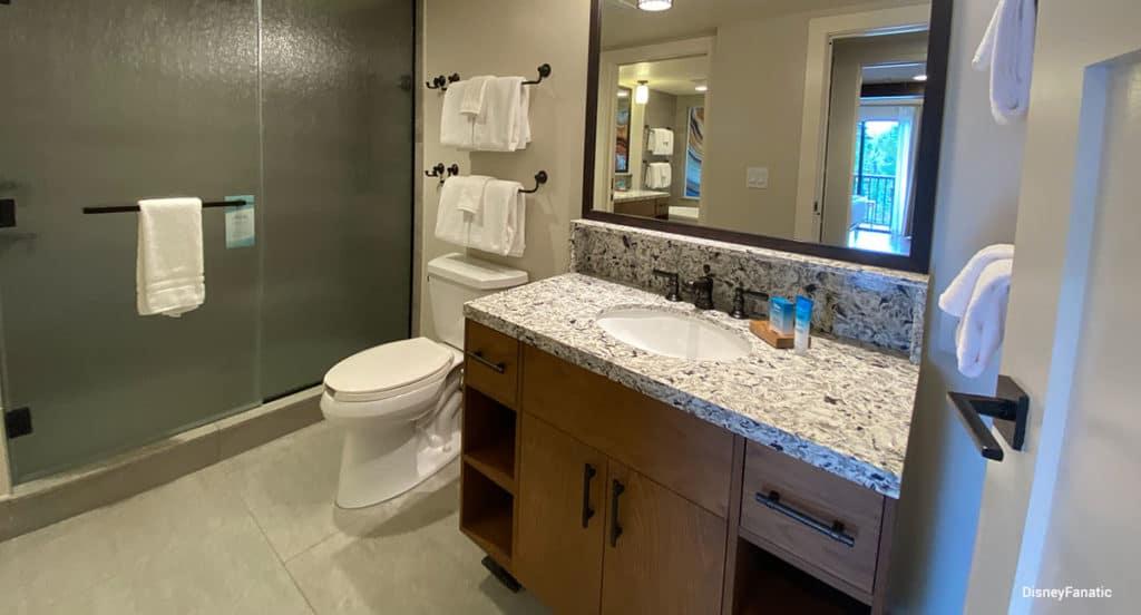 Cascade bathroom