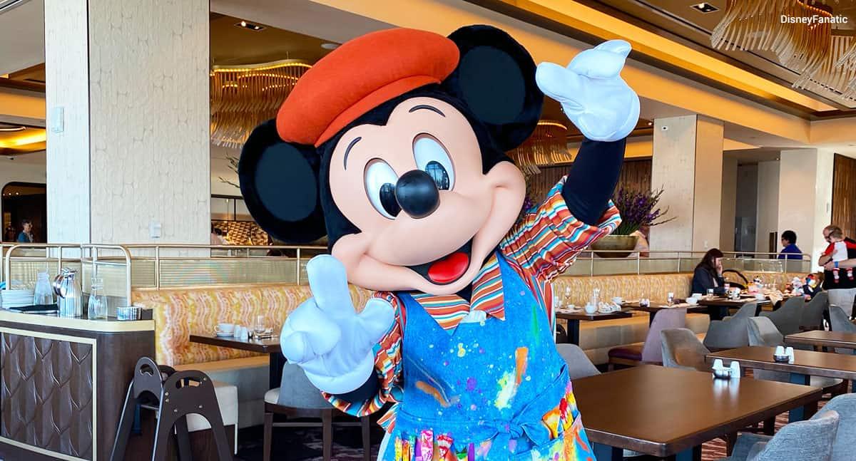 Mickey Mouse Topolino's Terrace