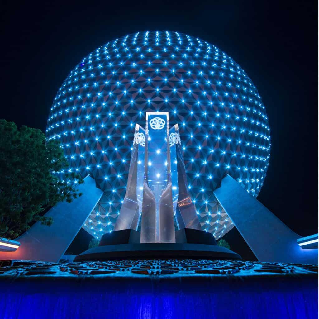 Beacons of Magic Spaceship Earth
