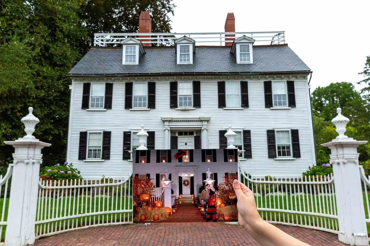 Allison's House from Hocus Pocus in Salem