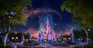50th Anniversary Cinderella Castle