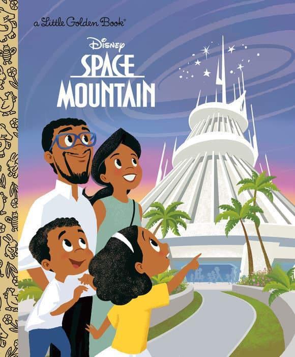 Space Mountain Little Golden Book