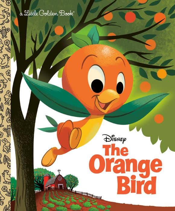 Orange Bird Little Golden Book