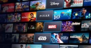 Disney Plus screen