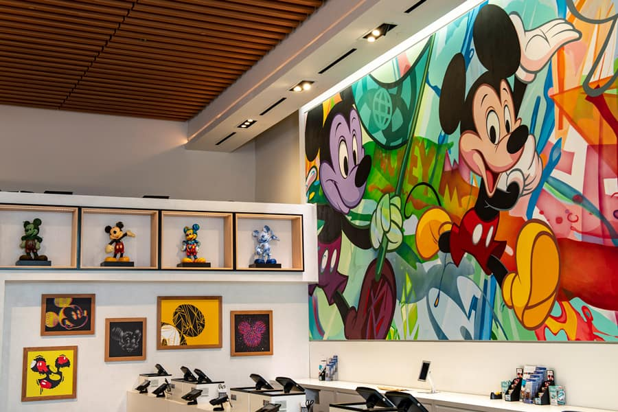 Creations Shop Mickey Mural