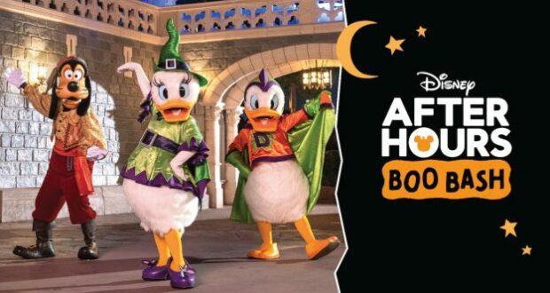 Disney World Boo Bash