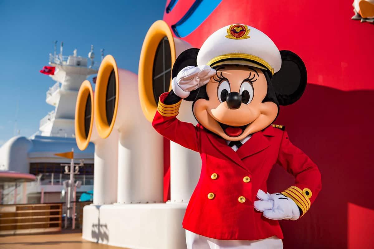 Disney Cruise Line Captain Minnie