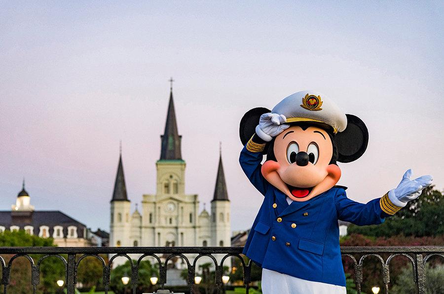 Disney Cruise Line Captain Mickey