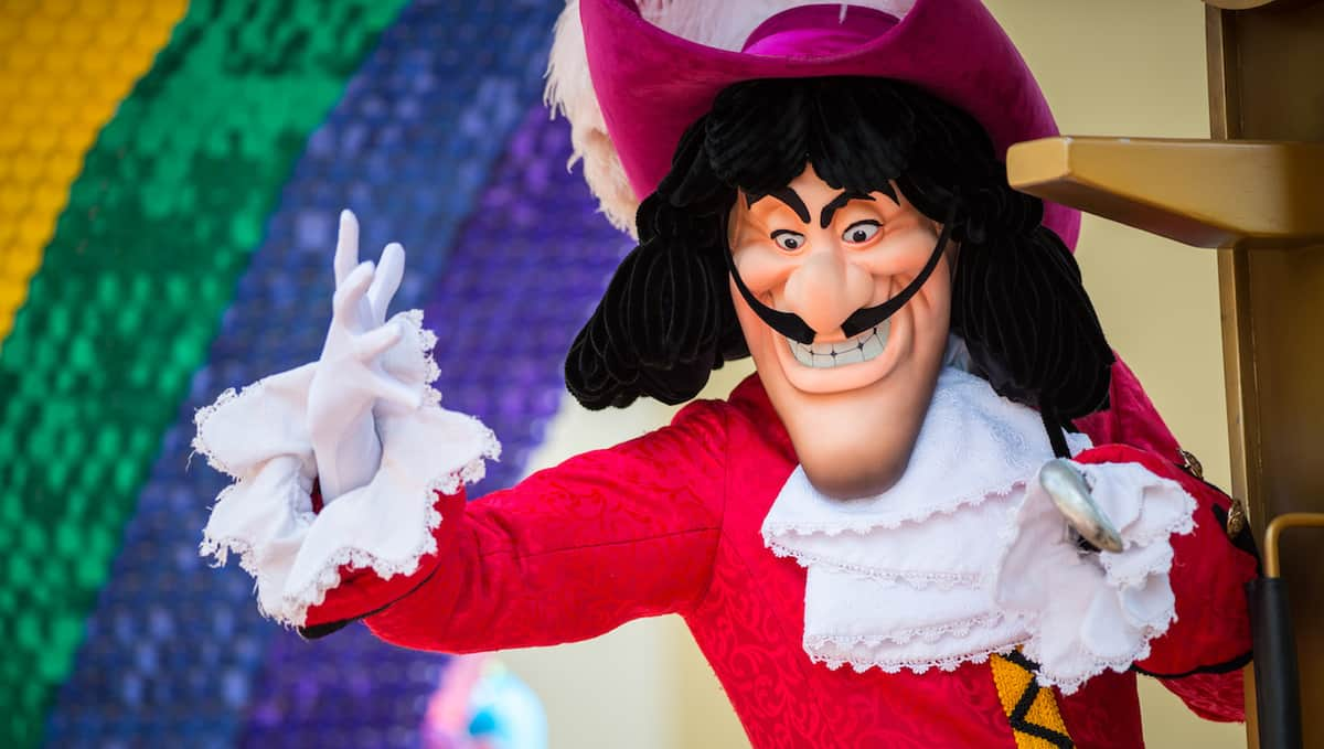 Captain Hook Walt Disney World